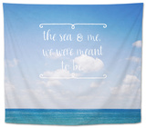The Sea and Me Tapestry by Susannah Tucker