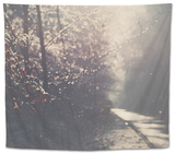 The Road Less Travelled Tapestry by Laura Evans