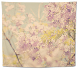 Flowers in Bloom Tapestry by Myan Soffia