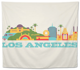 City Living Los Angeles Natural Tapestry