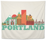 City Living Portland Natural Tapestry
