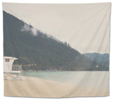 Lake Tahoe Nevada Tapestry by Laura Evans