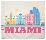 City Living Miami Natural Tapestry