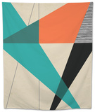 Diagonal Unity Tapestry by  Rocket 68