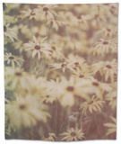 Yellow Flowers Tapestry by Tim Kahane