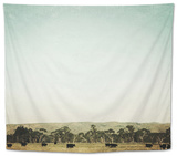 Going with the Herd Tapestry by Susannah Tucker