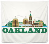 City Living Oakland Natural Tapestry