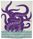 Sea Monster Tapestry by Greg Mably