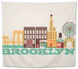 City Living Brooklyn Natural Tapestry