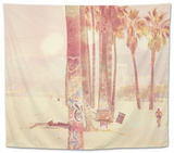 California Sunshine Tapestry by Myan Soffia
