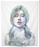 The Smallest Thing of the Universe Tapestry by Agnes Cecile