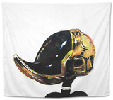 Daffy Punk Tapestry by Alex Cherry