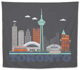 City Living Toronto Asphalt Tapestry