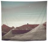Hills Near Shoshone Tapestry by Bastian Kienitz