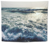 Indian Ocean. Goa Beach. Tapestry by  kseniaarrr