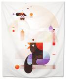Bubble Dream Tapestry by Antony Squizzato
