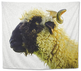 Sheep's Head Tapestry by Mark Gemmell