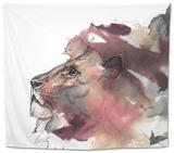 Leo 1 Tapestry by Nina Dogmetchi