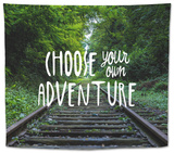 Choose Your Own Adventure Tapestry
