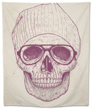 Cool Skull Tapestry by Balazs Solti