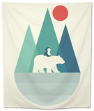 Bear You Tapestry by Andy Westface