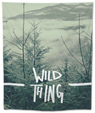 Wild Thing Tapestry by Leah Flores