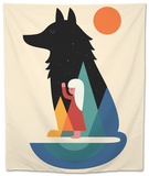 Best Friend Tapestry by Andy Westface