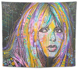 Bardot 1 Tapestry by Dean Russo