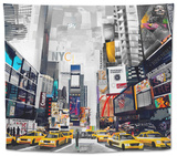 Time Square Tapestry by James Grey