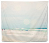 Sun Speckled Beach Tapestry by Susannah Tucker
