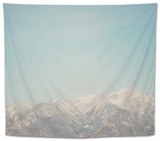 Mountain Tops Tapestry by Laura Evans