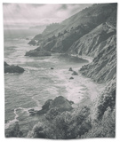 Majestic Big Sur Coastline, California Coast Tapestry by Vincent James