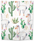 Exture with High Quality Hand Painted Watercolor Elements for Your Design with Cactus Plants,Flower Tapestry by  katerinas39
