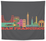 City Living San Francisco Asphalt Tapestry