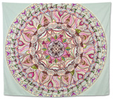 Colorful Mandala Design Tapestry by  shotsstudio