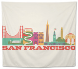 City Living San Francisco Natural Tapestry