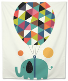 Fly High and Dream Big Tapestry by Andy Westface