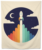 Up Tapestry by Andy Westface