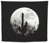 Moonrise in May II Tapestry by Douglas Taylor