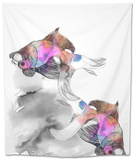 Forever Fish Tapestry by Nina Dogmetchi