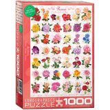 Roses 1000 Piece Puzzle Jigsaw Puzzle