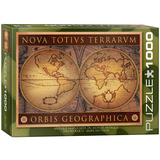 Antique Map 1000 Piece Puzzle Jigsaw Puzzle