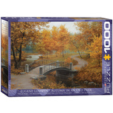 Autumn in an Old Park by Eugene Lushpin 1000 Piece Puzzle Jigsaw Puzzle