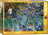 Irises by Vincent van Gogh 1000 Piece Puzzle Jigsaw Puzzle