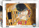 The Kiss by Gustav Klimt 1000 Piece Puzzle Jigsaw Puzzle