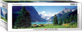 Lake Louise Canadian Rockies 1000 Piece Puzzle Jigsaw Puzzle