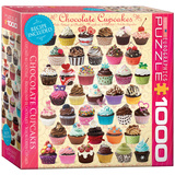Chocolate Cupcakes 1000 Piece Puzzle Jigsaw Puzzle