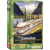 The Canadian by Roger Cuillard 1000 Piece Puzzle Jigsaw Puzzle