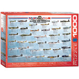 Allied Air Command World War II Fighters 1000 Piece Puzzle Jigsaw Puzzle