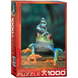 Red-Eyed Tree Frog 1000 Piece Puzzle Jigsaw Puzzle